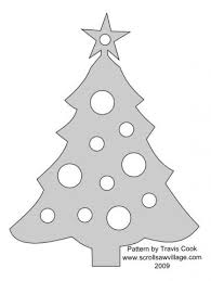 scroll saw ornaments patterns plans diy free
