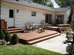 Small Backyard Deck Patio Ideas Best 25 Low Deck Ideas On Pinterest Low Deck Designs Backyard