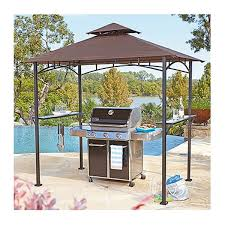 Gazebo With Awning Grill Gazebo