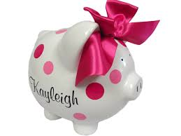 personalized baby piggy banks personalized piggy banks for all ages birthday girl t shirts