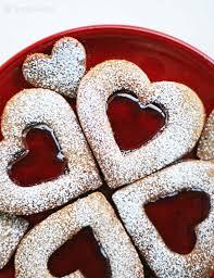 valentines cookies linzer cookies recipe simplyrecipes