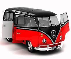 volkswagen type 1 3d model of volkswagen type 1 samba bus youtube