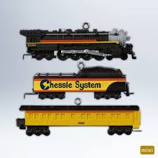 hallmark 2012 lionel chessie steam special ornament