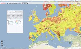 Interactive Map Of Europe The Interactive Heat Map U203a Friedrich Alexander Universität