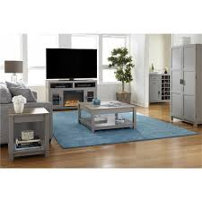 altra home decor altra furniture carver gray end table 5046096com the home depot