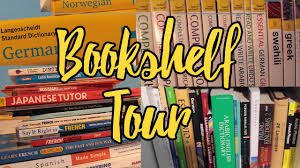 language bookshelf tour matt 2017 youtube