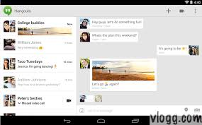 hangouts app android hangouts android app v2 0 with sms animated gif s released