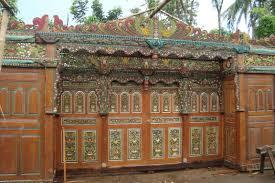 furniture u0026 accessories javanese wooden front door crown