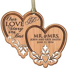 personalized ornaments engraved ornaments