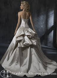 wedding dress bustle bustle