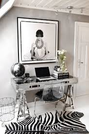 Glam Home Decor by Home Office Decorating For Glamour Posh Organization U2014 The