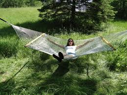 double cotton hammock by hammock universe usa