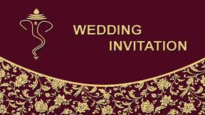 Create Marriage Invitation Card Free How To Create Wedding Invitation Card Front Page In Photoshop