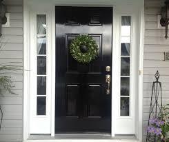 Painting Exterior Doors Ideas Front Door Paint Colors Front Doors Home Depot Best 25 Black