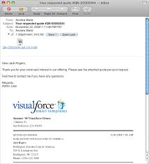 Email Quote Template visualforce emailquote2pdf developer
