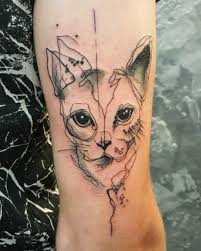 tattoo cat 35 unbelievable cat tattoos that are guaranteed to leave you