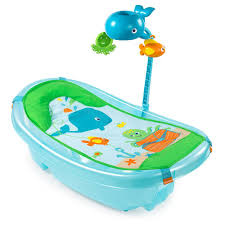 Summer Infant To Toddler Bathtub Summer Infant Ocean Buddies Newborn To Toddler Baby Tub With Toy