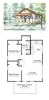 simple one bedroom cottage 80555pm architectural designs luxamcc