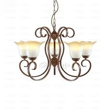Ivory Chandelier Iron Vintage Unique Ivory Shade Rustic Chandelier Lighting