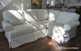 How To Make A Slipcover For A Sectional Sectional Slipcovers Armless Sofa Bed Love Slcow Sectional