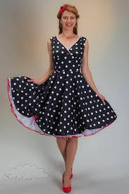 polka dot swing dress with petticoat by setrino u20ac 149 00