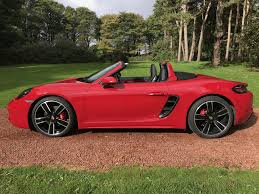 purple porsche boxster used 2017 porsche boxster 718 16 current boxster s pdk for sale