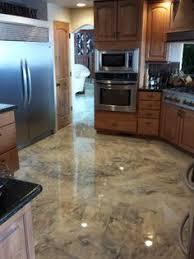Concrete Kitchen Floor by Acid Stain Concrete Acid Stained Concrete Floors Acid Stained