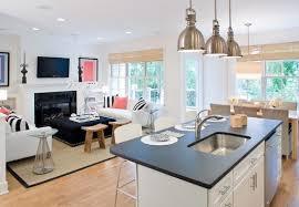 Open Plan Kitchen Living Room Flooring Open Plan Kitchens Pictures House Home Pinterest Kitchen