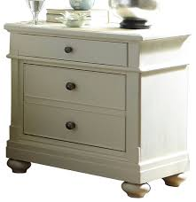 liberty furniture harbor view iii 2 drawer nightstand dove gray