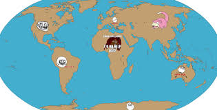 World Of Memes - meme world map idigculture com