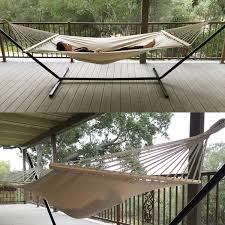 outdoor swing chair cotton double bed canvas hammock hanging