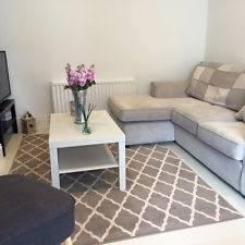 milan soft touch grey trellis modern geometric living room area