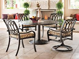 Stackable Dining Room Chairs Telescope Casual Ocala Cast Aluminum Metal Arm Stackable Dining