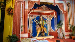 navratri durga puja navratri decoration navratri aarti thali