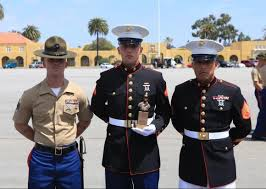 lcpl maurice edmonds honored with chesty puller award marine