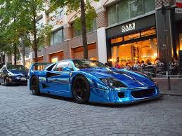 chrome ferrari chrome blue f40 ferrari f40 pinterest ferrari f40 and ferrari