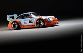 gulf racing kustoms mini cars 2016 rlc gulf racing porsche 993 gt2