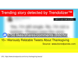 10 hilariously relatable tweets about thanksgiving