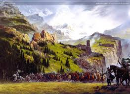rohan wallpaper the riders of rohan ted nasmith