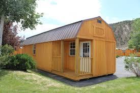side lofted barn cabin