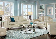 livorno aqua leather sofa livorno aqua leather 3 pc living room leather living rooms