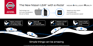 nissan leaf b mode nissan next gen leaf has u0027e pedal u0027 feature for one pedal driving