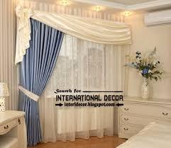 Bedroom Curtain Designs Modern Bedroom Curtain Designs Elaborate Window Treatments N