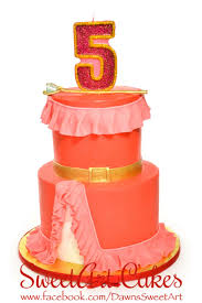 birthday cake elena of avalor cake sweetart cakes pinterest