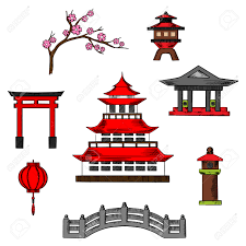 japan clipart japanese culture pencil and in color japan clipart