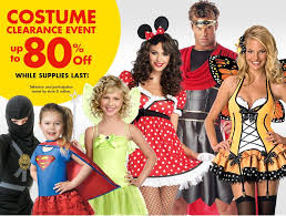 party city costume clearance event save up to 80 plus free