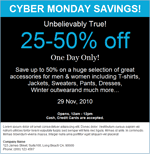 black friday email template cyber monday email marketing templates