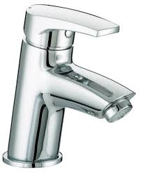 bristan orta basin mixer tap with clicker waste or bas c