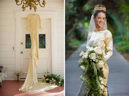 in wedding dress 4 women in family wear same handmade wedding gown from 1932 abc news