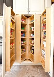 Kitchen Room Best Corner Tall Pantry Cabinets Corner Kitchen - Kitchen pantry cabinet plans